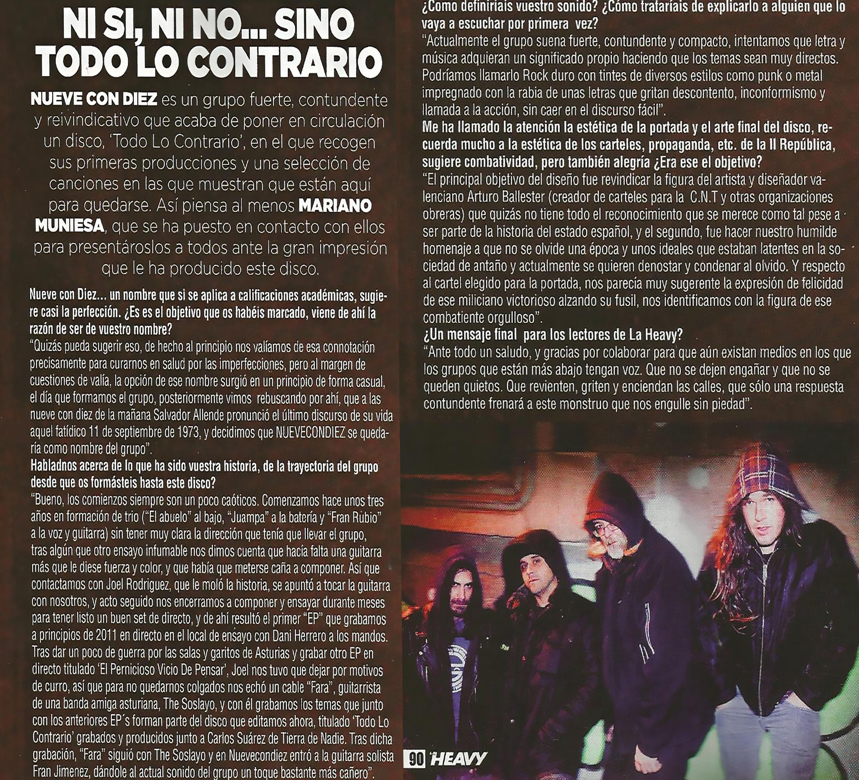NCD heavy rock entrevistatw